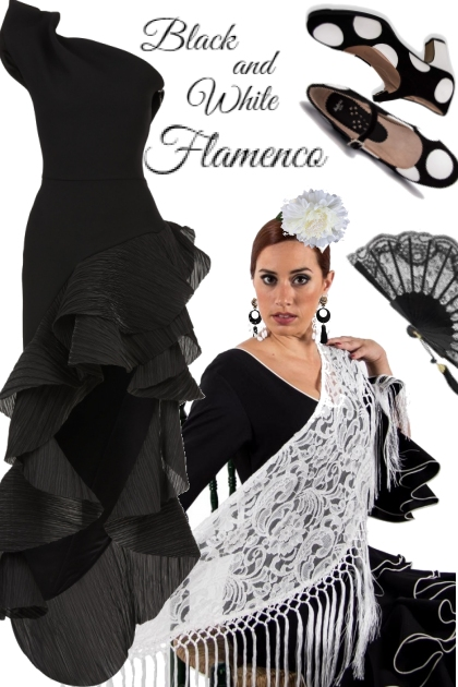Black & White Flamenco