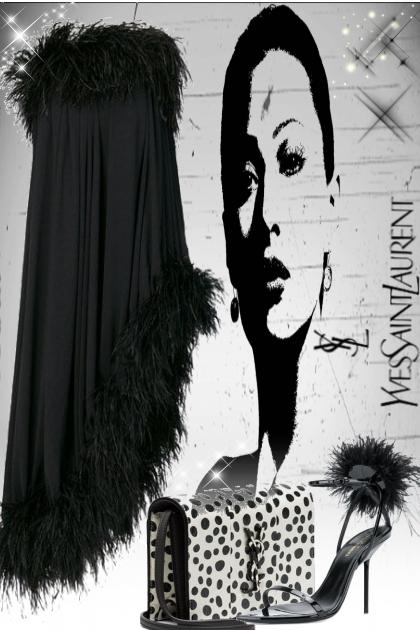 Saint Laurent Black&White