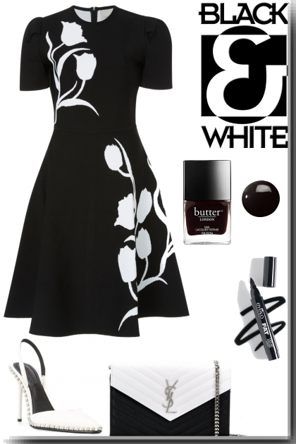 Tulip Black&White