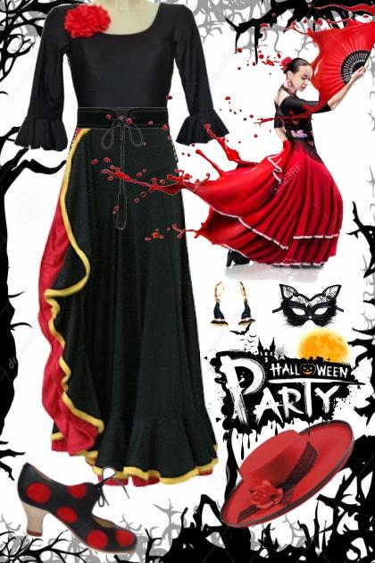 Halloween party night !!