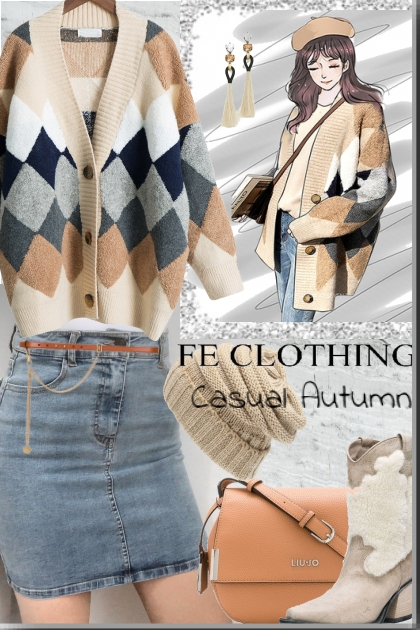 Feclothing casual autumn !!!