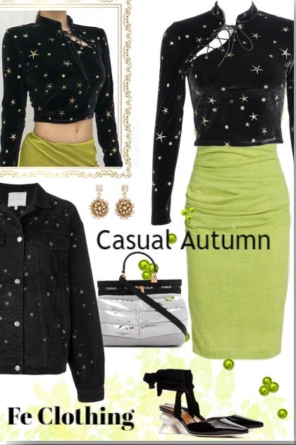 Green Casual Autumn