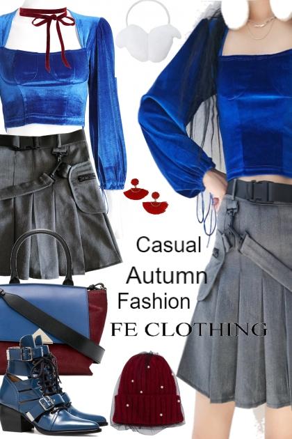 Casual Autumn Fashion !!