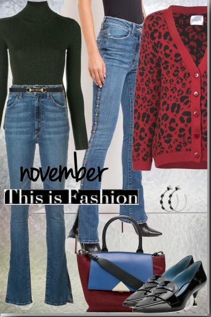 Red & Bleu !!- Fashion set
