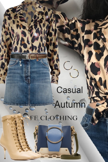 Casual Autumn FeClothing ##