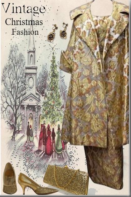 Vintage Christmas Fashion