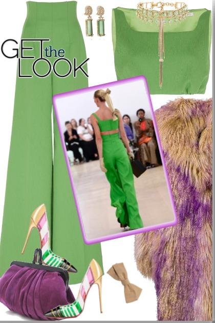 Green &Purple
