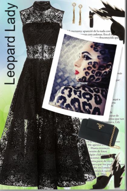 Leopard Lady !