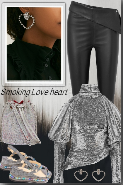 Smoking Love heart