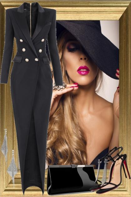 Blazer Gown