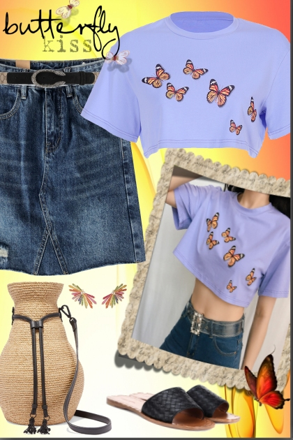 Butterfly Kiss- Fashion set
