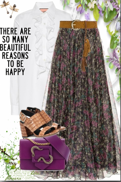 Beautiful reasons to be happy