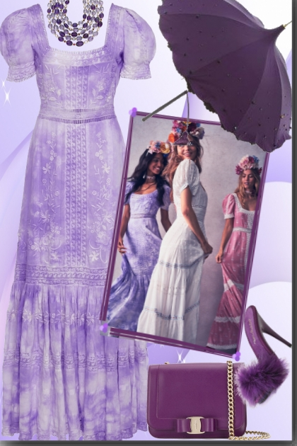Cloud Purple Dress