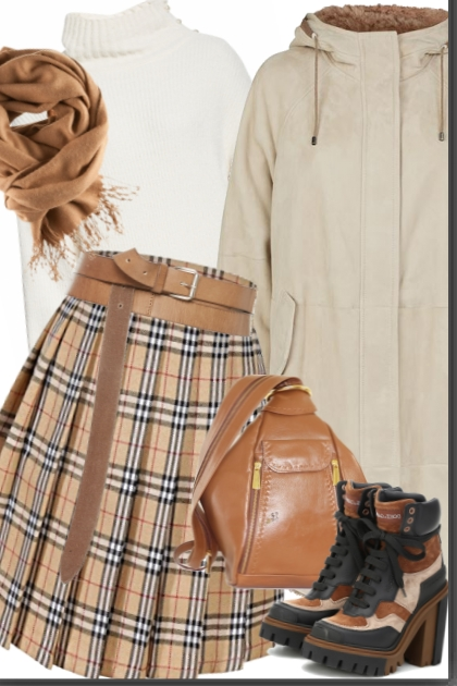 High School Pleated Skirts