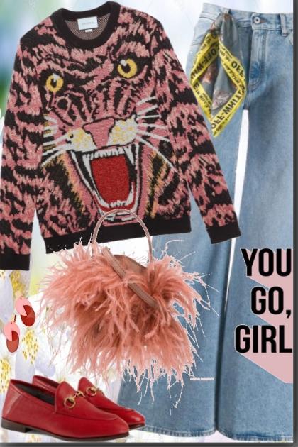 You Go,Girl !!