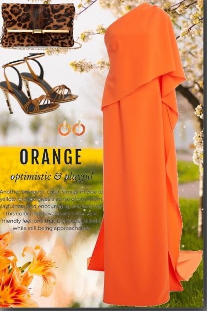 Orange ; Optimistic & Playful