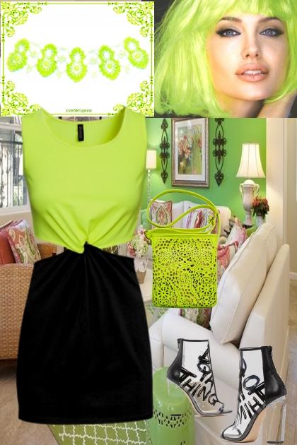 neon- Combinaciónde moda
