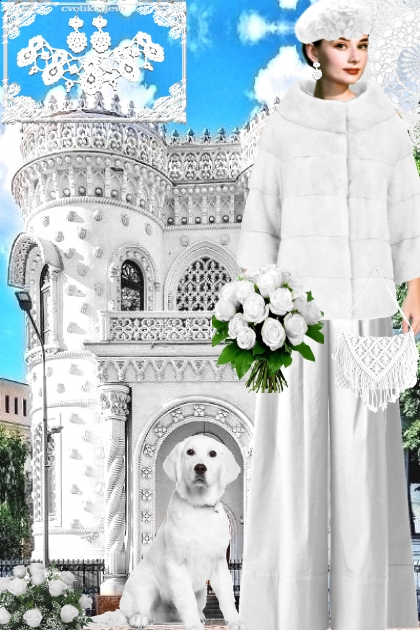 Кружевная архитектура. Белый
