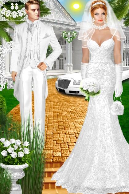 Набор. Милен. Белый. Свадьба. День 00299