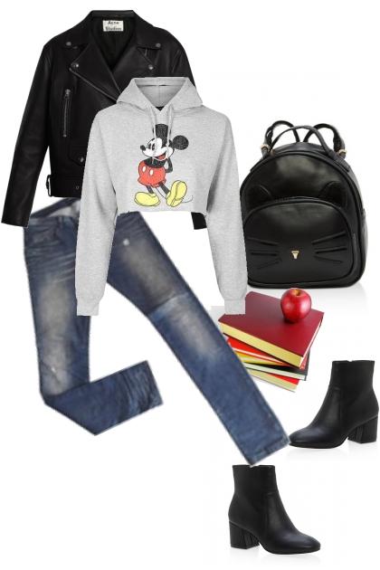 A scuola con Mickey Mouse