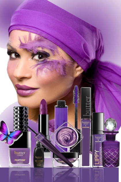Make Up Purple