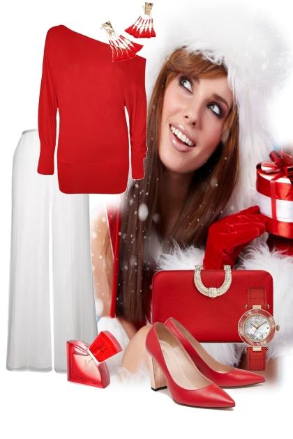 Christmas Red e White