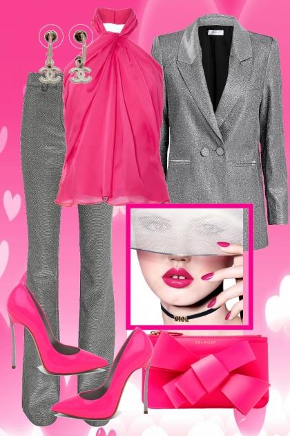 Gray e Flo Pink