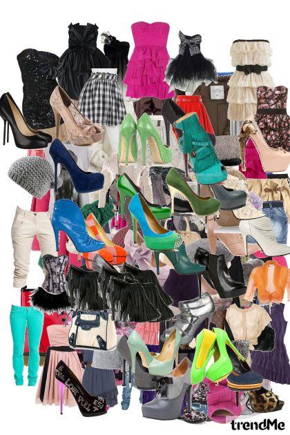 Me and Jovana shopping :D- Fashion set