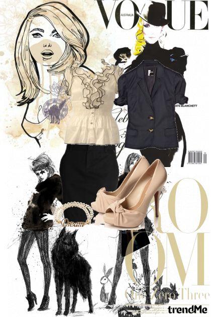 za poslovnu zenu- Fashion set
