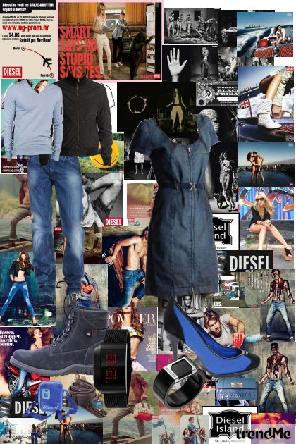 MegA DIESEL- Fashion set