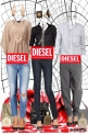 Different in every way, equal in one ( DIESEL)