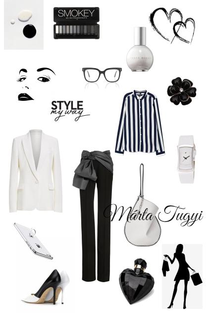 Black and White- Modekombination