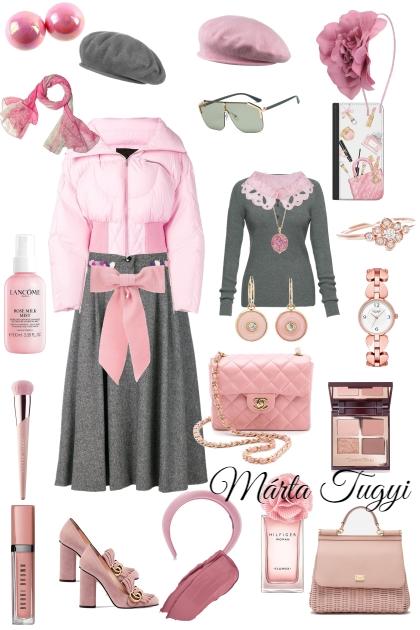 lány szett- Combinazione di moda