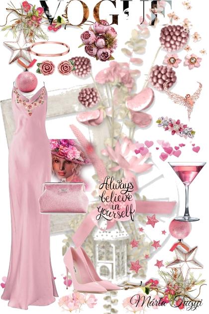 pasztel rózsaszín
