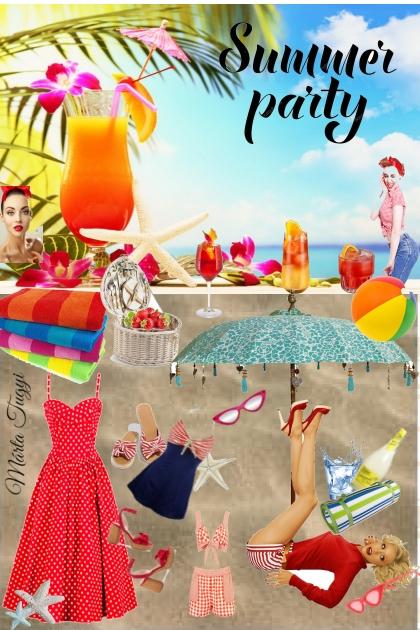 summer retro party