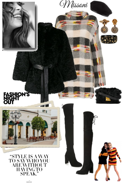 Missoni...Perfect Fall Ensemble