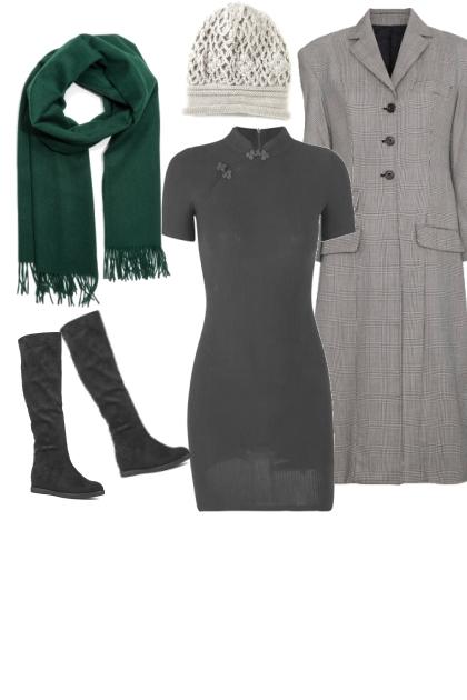 серый   контраст зеленый