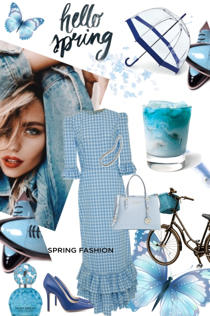 Blue Doesn't Have to be Sad - Fashion set