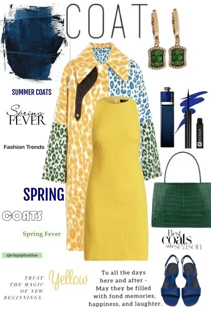 spring coat- Fashion set