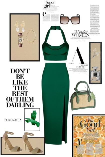 timeless glam- combinação de moda