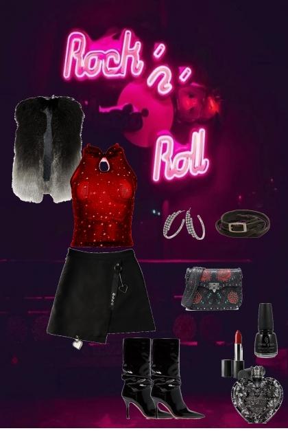 Rock- Combinaciónde moda