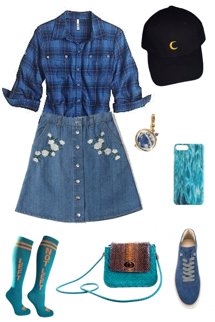 blue- Fashion set