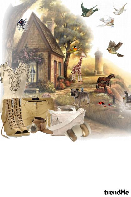 farmer girl- Fashion set
