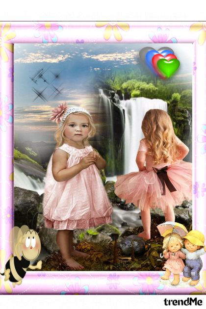 dječiji pogled na prirodu :))