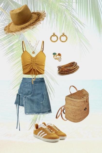 Beach picnic casual