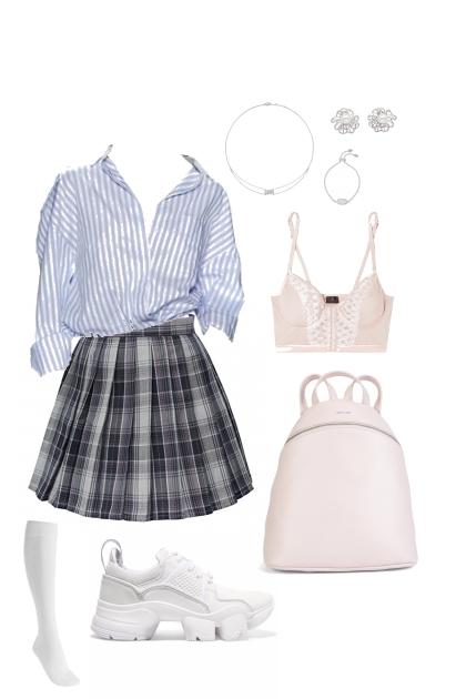 Modern schoolgirl