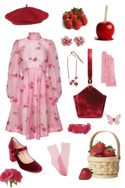 Romantic Red & Pink Picnic