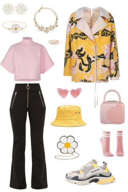 Urban yellow/pink <3
