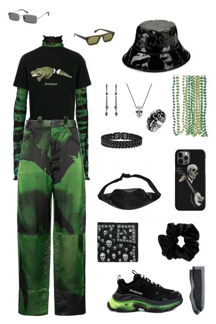 Green E-girl