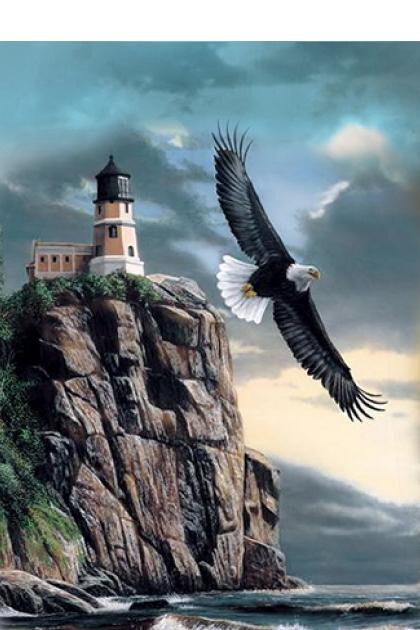 An Eagle over the Sea- Fashion set